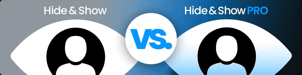 Divi-Modules – Hide & Show and HIde & Show PRO feature images